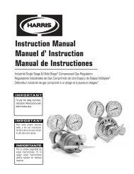 Instruction Manual de Instructiones - Federal Industrial Sales