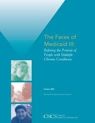 The Faces of Medicaid III: - Center for Health Care Strategies