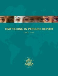 trafficking in persons report - Embassy of the United States Rangoon ...