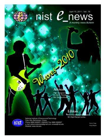 NIST e-NEWS(Vol 76, April 15, 2011)