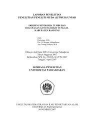 Skrining fitokimia in Gunung - Biology East Borneo