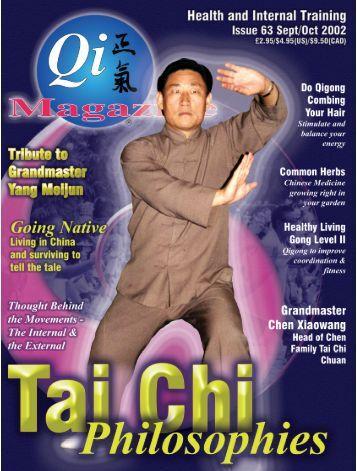 Issue 63 - Tse Qigong Centre