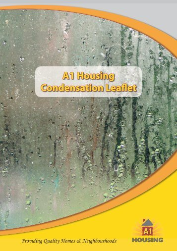 A1 Housing Condensation Leaflet