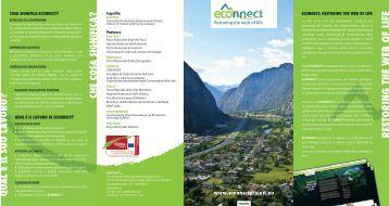 R ESTORIN G THE WEB OF LIFE - Alpine Space Programme