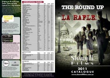 2011 CATALOGUE - Sharmill Films