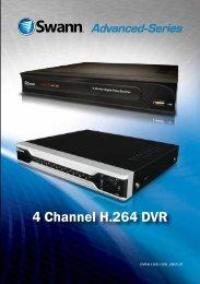 4 Channel H.264 DVR