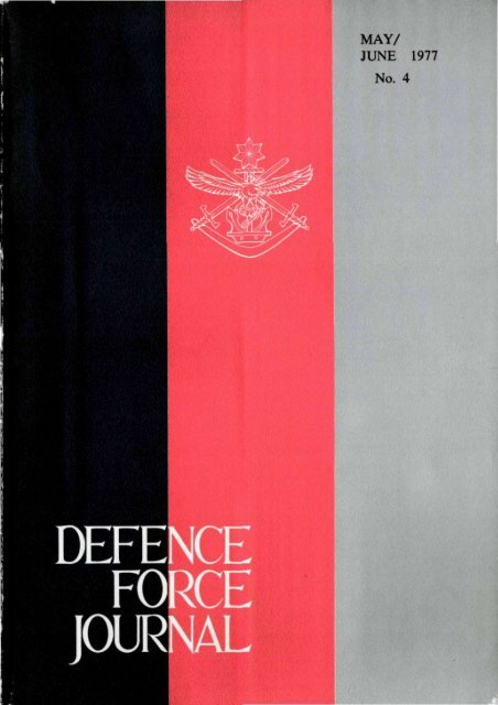 ISSUE 4 : May/Jun - 1977 - Australian Defence Force Journal