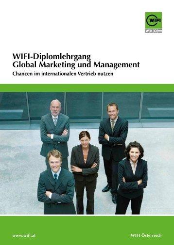 Wifi-Diplomlehrgang Global Marketing und Management