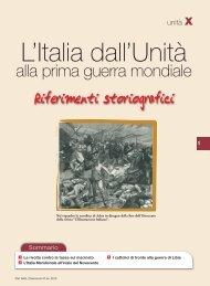 L'Italia dall'Unità alla prima guerra mondiale - Sei