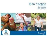 Plan d'action pour les aînés 2013-2015 - Ville de Longueuil