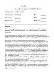 Wahlaufruf zur Wahl zum Deutschen Bundestag am ... - Aktuelles