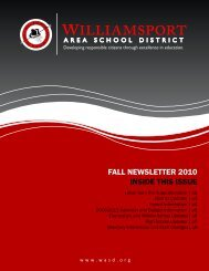 FALL NEWSLETTER 2010 INSIDE THIS ISSUE - Wasd.org