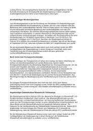 Faktencheck über die Umsetzung der Energiepolitik durch die ...