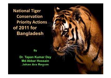Bangladesh - Global Tiger Initiative