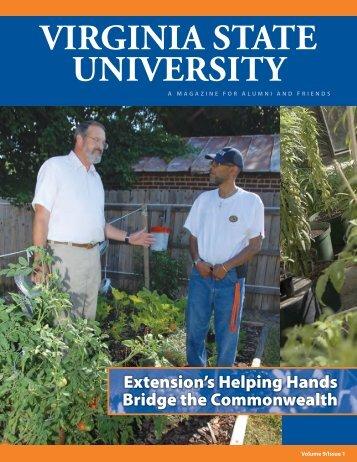development news - Virginia State University
