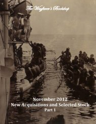 November 2012 New Acquisitions and Selected Stock Part 1