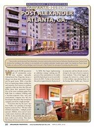 POST ALEXANDER ATLANTA, GA. - Broadband Properties