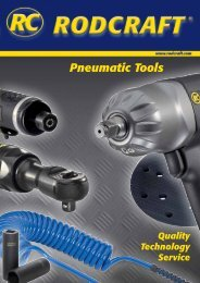 download (PDF) - RODCRAFT Pneumatic Tools