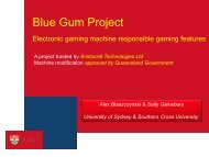The Blue Gum project