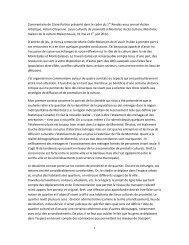 1 Commentaire de Claire Poitras présenté dans le ... - Accès culture