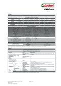 PRODUCT AND TECHNICAL DATA Castrol Brayco ... - ER Trading AS - Page 3