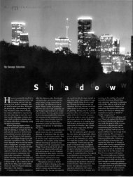 Shadow Planning is the Way Houston Works, For Good