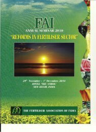 The Fertiliser Association Of India