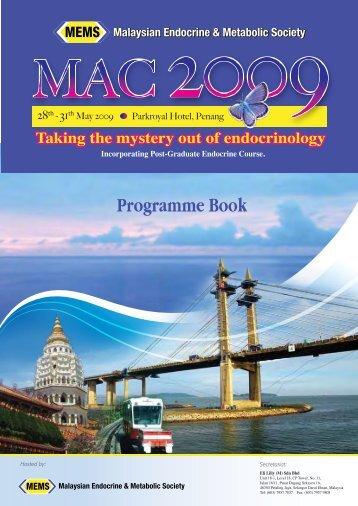 MAC 2009 – programme book (English - pdf - 3082 Kb) - MEMS