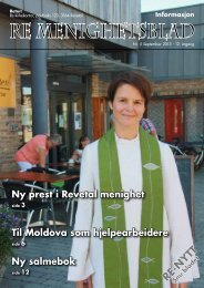 Nr 5. 2013 - Re kirkelige fellesråd - Den norske kirke
