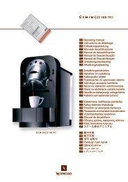 CS100 Pro descaling manual