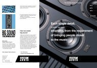 open brochure PDF(3 MB) - System Audio