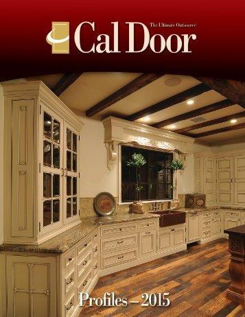 Door Profiles - Cal Door & Cal Door Artesia u0026