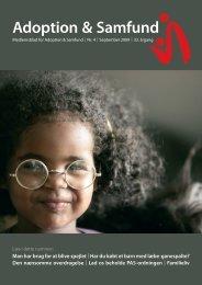 BILLEDER TIL BLADET - Adoption og Samfund