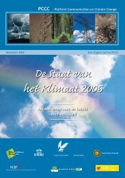 De staat van het klimaat 2006: actueel onderzoek en ... - Natuurpunt