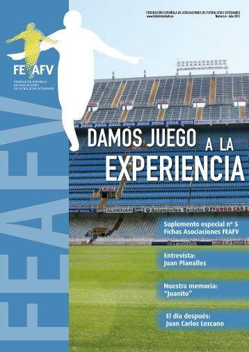 Julio 2012 - Federación Española de Asociaciones de Futbolistas ...