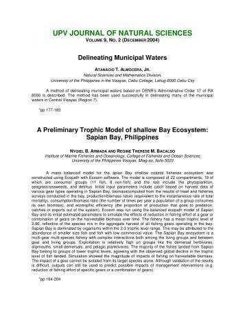 Kasetsart Journal Natural Science