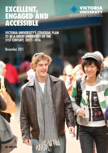 VU Strategic Plan - concise - Victoria University