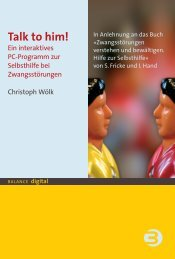 Booklet zur DVD - Psychiatrie Verlag