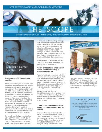 Issue 3 - UCSF Fresno