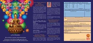 Medicine Buddha Cele.. - Amitabha Buddhist Centre
