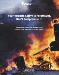 Universal Flasher Flyer - Emergency Vehicle Solutions