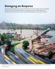 Bewegung am Bosporus - beim Portal für Firmen, Konzerne und ...
