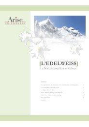 [L'EDELWEISS] - swiss alpine cosmetic