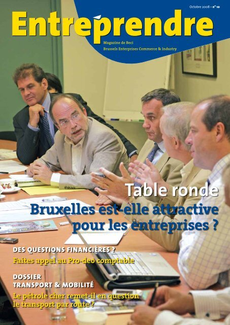 Entreprendre Octobre 08 - BECI