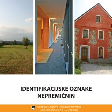 identifikacijske oznake nepremičnin - Geodetska uprava Republike ...