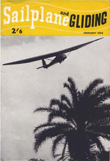 Sailplane & Gliding 1956 - Lakes Gliding Club