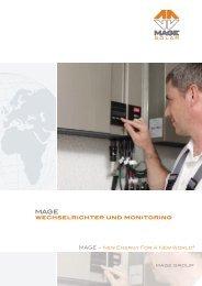 wechselrichter und monitoring - Mage Solar