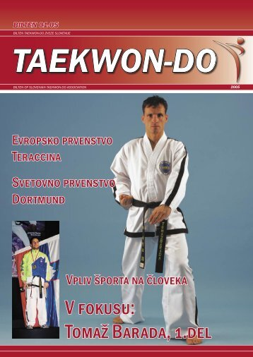 V fokusu: Tomaž Barada, 1.del - All Europe Taekwon-do Federation