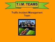T.I.M. TEAM - Traffic Incident Management