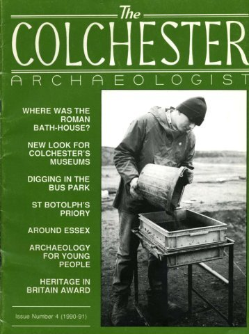The Colchester Archaeologist 1990-1 - CAT